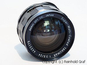 Asahi Super-Multi-Coated Takumar 3.5/24mm