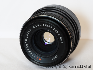 Carl Zeiss Jena Flektogon 35 2.4